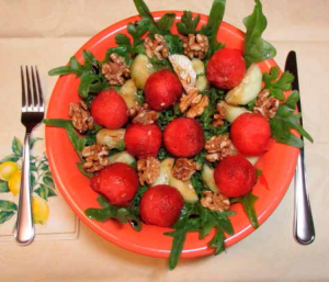 Kale and Watermelon Salad