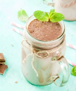 Peppermint Chocolate Smoothie